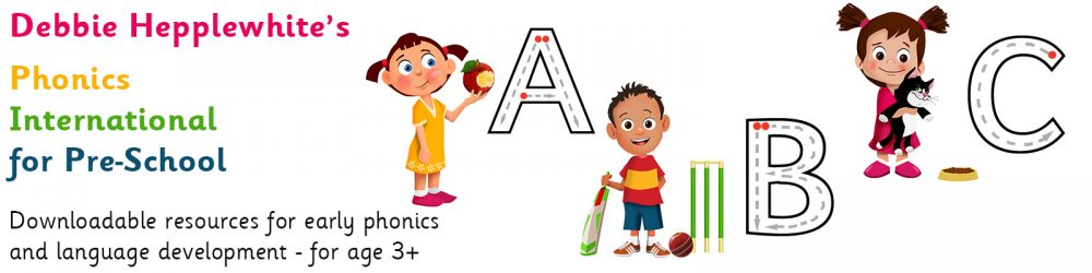 Phonics for Preschool Header Image
